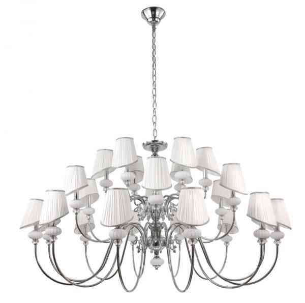 Люстра Crystal Lux ALMA WHITE SP-PL12+6+6 1