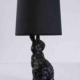 Настольная лампа Delight Collection Rabbit black 6022T black