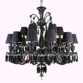 Люстра Delight Collection Baccarat 12+6 black ZZ86303BK-12+6