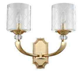 Бра Crystal Lux GRACIA AP2 GOLD