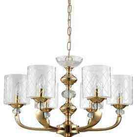 Люстра Crystal Lux GRACIA SP6 GOLD