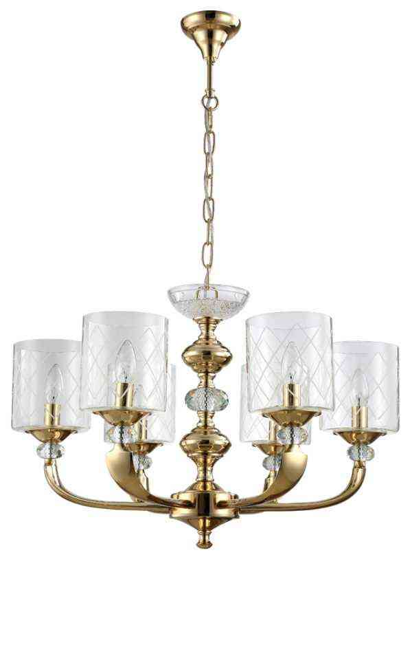 Люстра Crystal Lux GRACIA SP6 GOLD 1