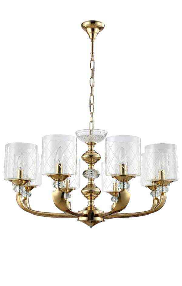 Люстра Crystal Lux GRACIA SP8 GOLD 1
